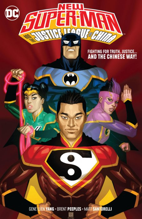 New Super-Man and the Justice League of China #1 - TPB