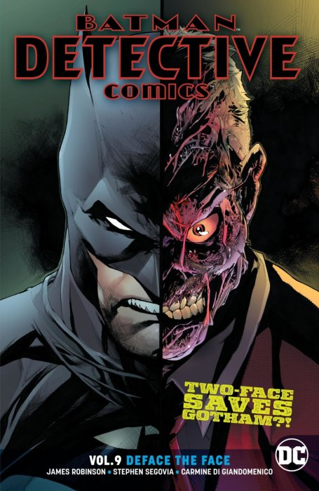 Batman - Detective Comics Vol.9 - Deface the Face