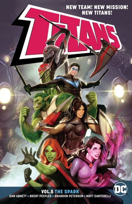 Titans Vol.5 - The Spark