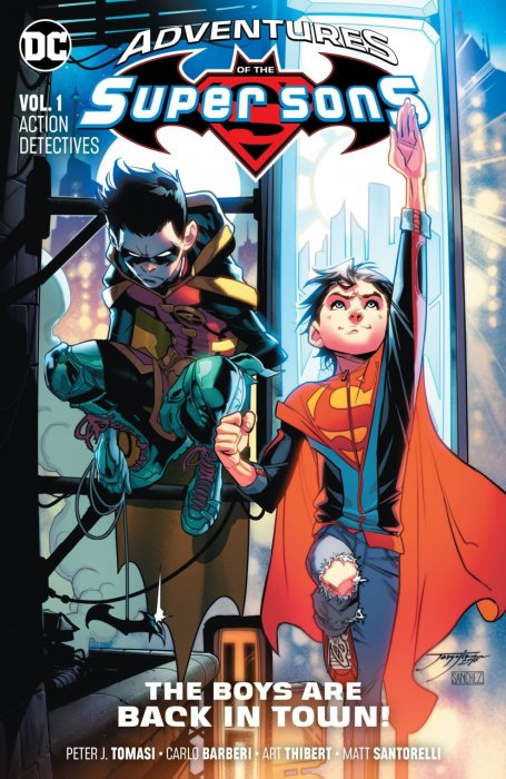 Adventures of the Super Sons Vol.1 - Action Detectives