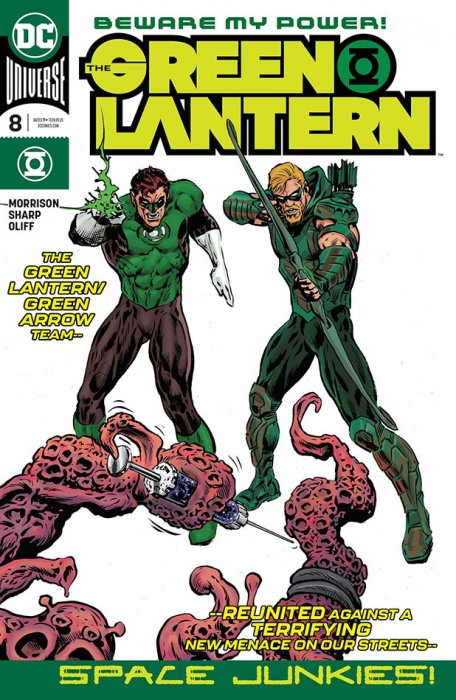 The Green Lantern #8