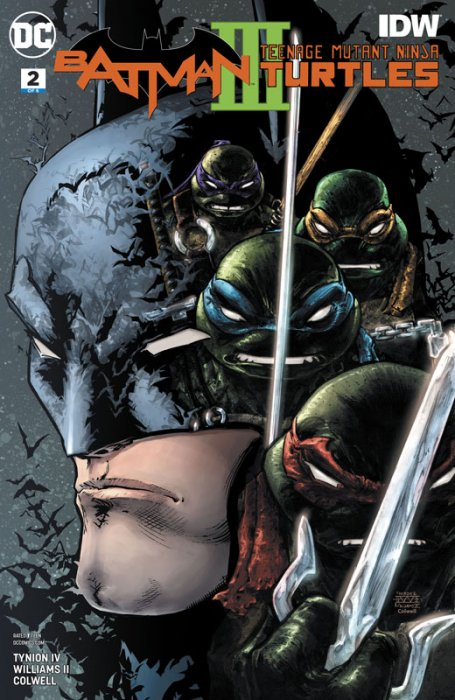Batman - Teenage Mutant Ninja Turtles III #2