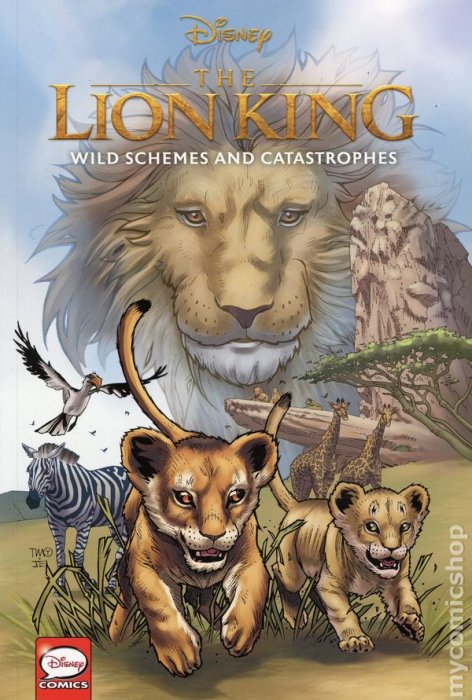 Disney The Lion King - Wild Schemes and Catastrophes #1 - GN