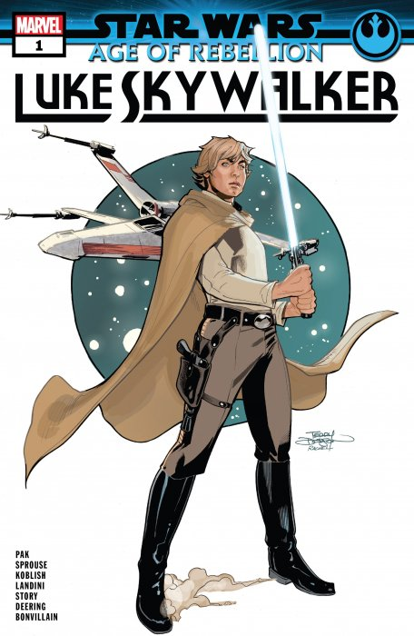 Star Wars - Age Of Rebellion - Luke Skywalker #1