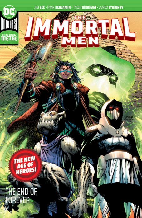 The Immortal Men - The End of Forever #1 - TPB