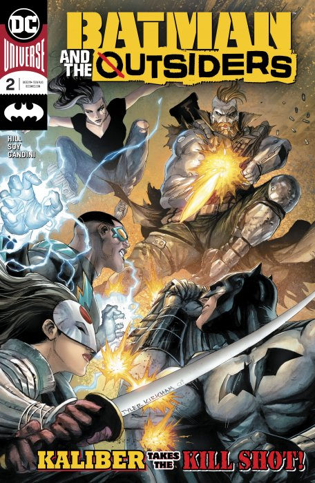 Batman & the Outsiders #2