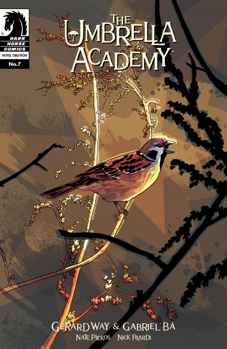 The Umbrella Academy - Hotel Oblivion Ashcan #7