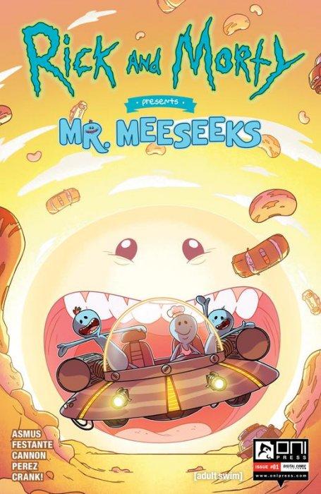 Rick and Morty Presents #6 - Mr. Meeseeks
