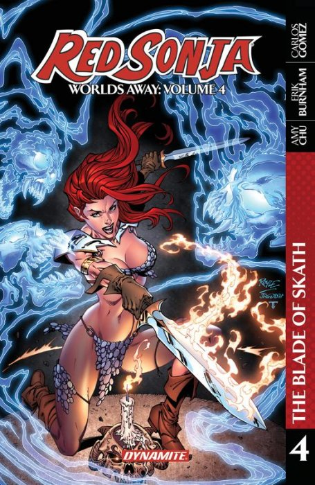 Red Sonja - Worlds Away Vol.4 - The Blade of Skath