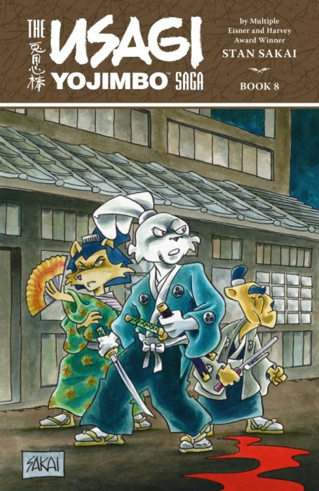 The Usagi Yojimbo Saga Book #8