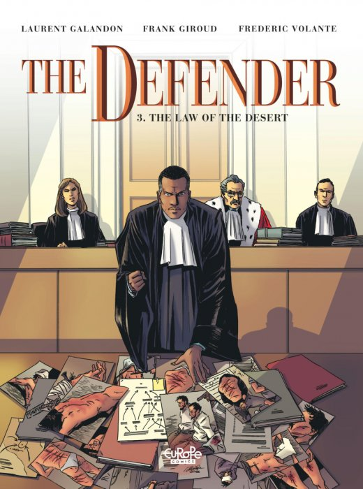The Defender #3 - The Law of the Desert