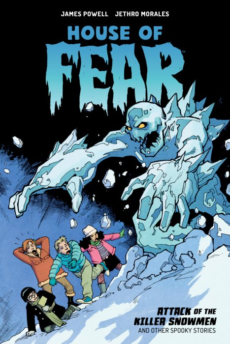 House of Fear - Attack of the Killer Snowmen and Other Spooky Stories #1 - GN