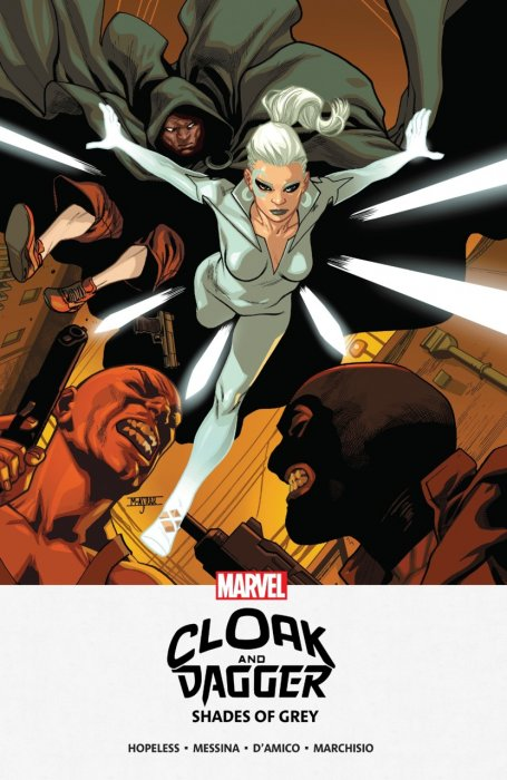 Cloak and Dagger - Shades of Grey #1 - TPB