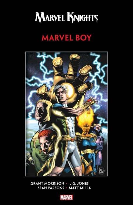 Marvel Knights Marvel Boy by Morrison & Jones #1 - TPB
