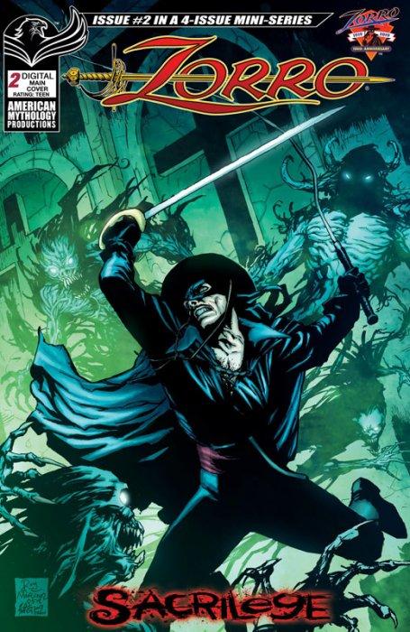 Zorro - Sacrilege #2