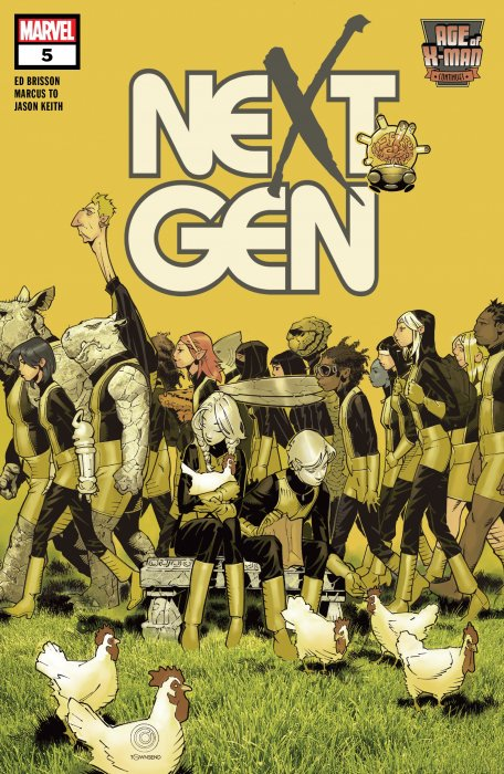 Age of X-Man - NextGen #5