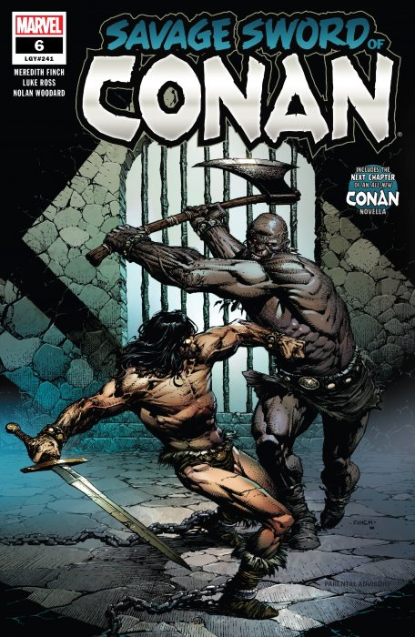 Savage Sword of Conan #6