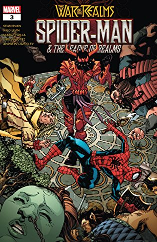 Spider-Man & The League of Realms #3