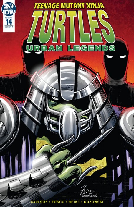 Teenage Mutant Ninja Turtles - Urban Legends #14