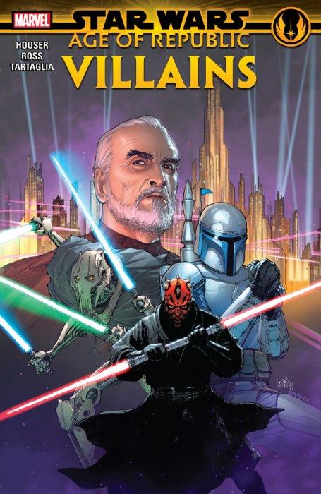 Star Wars - Age Of Republic - Villains #1 - TPB