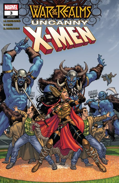 War of the Realms - Uncanny X-Men #3