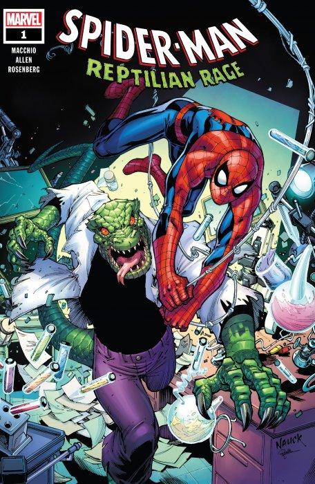 Spider-Man - Reptilian Rage #1