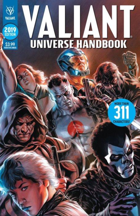 Valiant Universe Handbook 2019 Edition #1