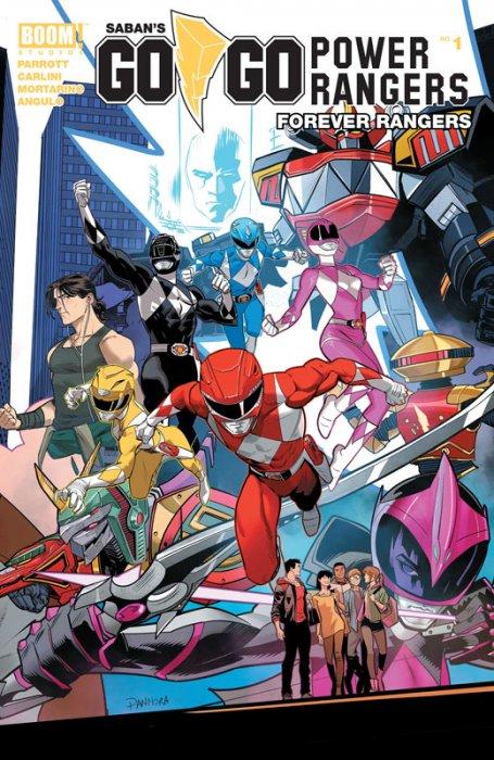 Saban's Go Go Power Rangers - Forever Rangers #1