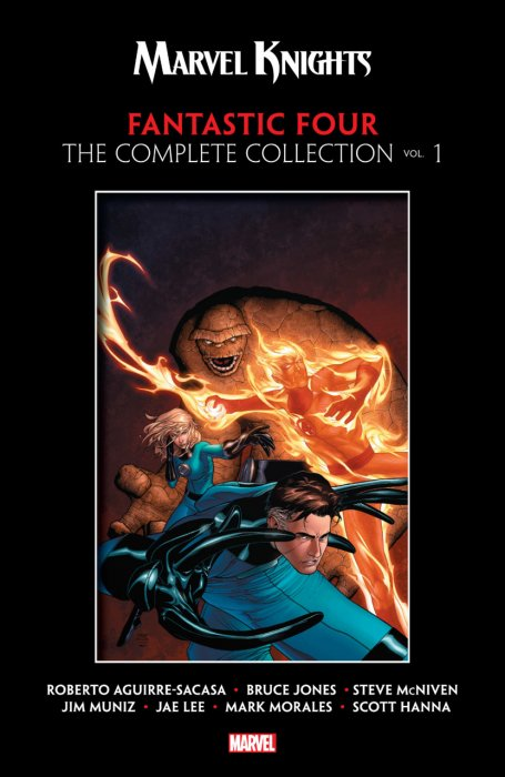 Marvel Knights Fantastic Four by Aguirre-Sacasa, McNiven & Muniz - The Complete Collection Vol.1
