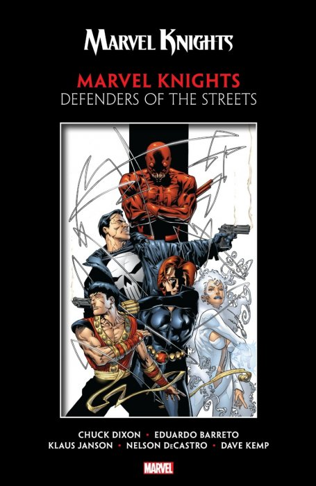 Marvel Knights by Dixon & Barreto - Defenders of the Streets #1 - TPB