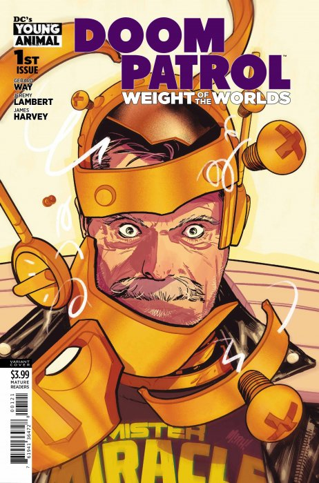 Doom Patrol - Weight of the Worlds #1