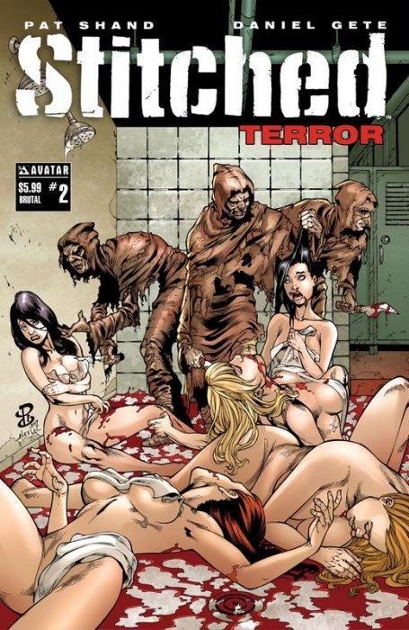 Stitched Terror #2
