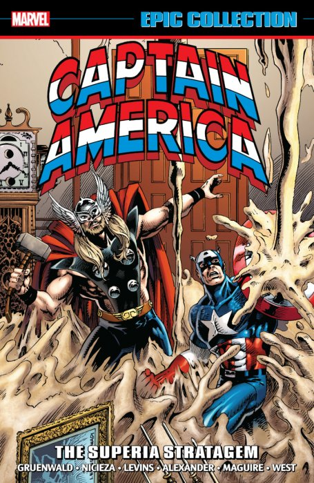 Captain America Epic Collection Vol.17 - The Superia Stratagem