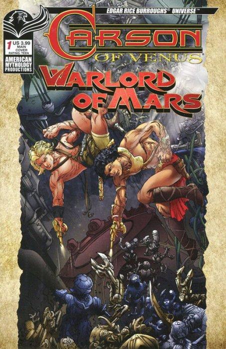 Carson of Venus - Warlord of Mars #1