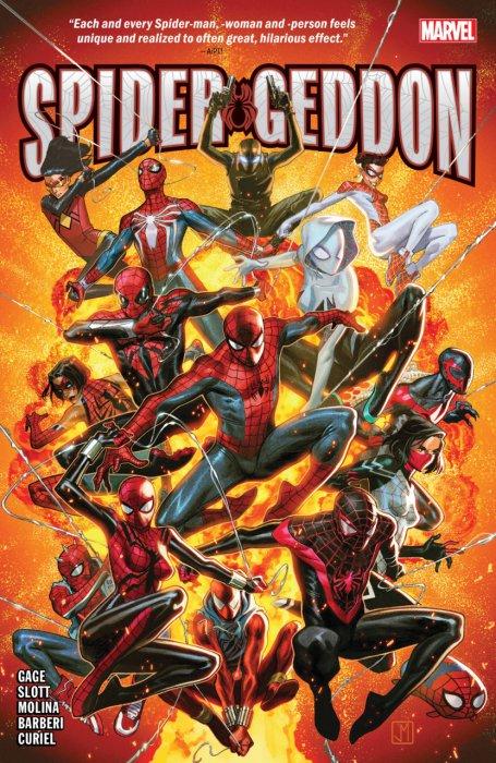 Spider-Geddon #1 - TPB