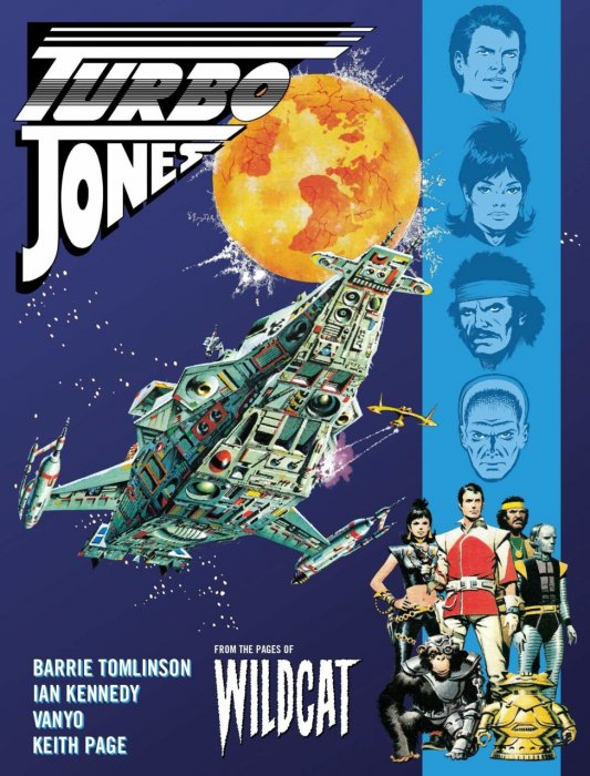 Wildcat - Turbo Jones #1 - TPB