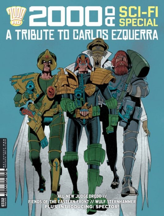 2000AD Sci-Fi Special 2019 #1