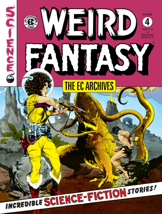 The EC Archives - Weird Fantasy Vol.4