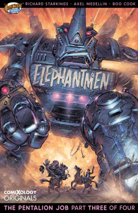 Elephantmen 2261 - The Pentalion Job #3