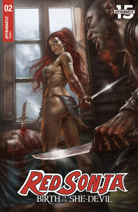 Red Sonja - Birth of the She-Devil #2