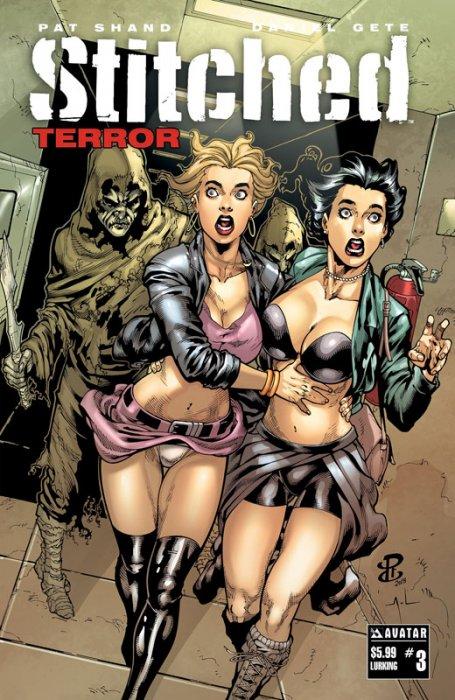 Stitched Terror #3