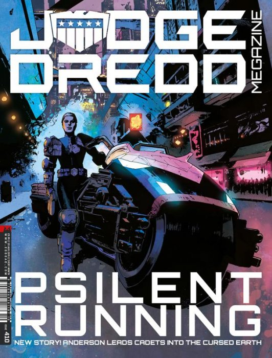 Judge Dredd The Megazine #410