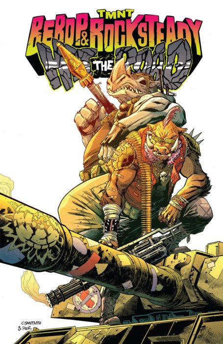 Teenage Mutant Ninja Turtles - Bebop & Rocksteady Hit the Road #1 - TPB