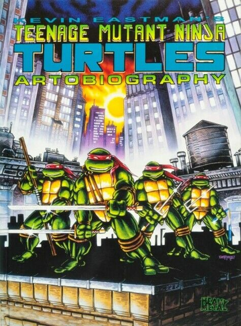 Kevin Eastmans Teenage Mutant Ninja Turtles Artobiography #1