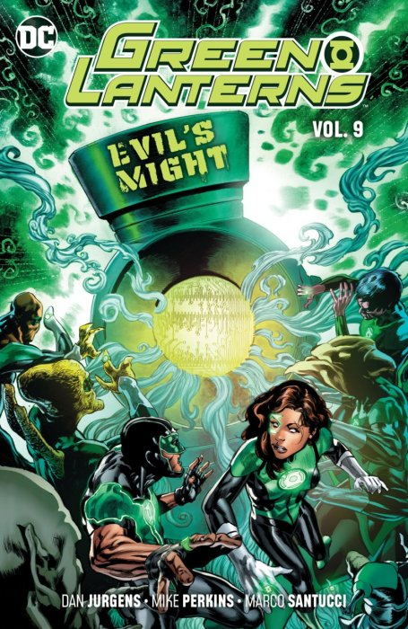 Green Lanterns Vol.9 - Evil's Might