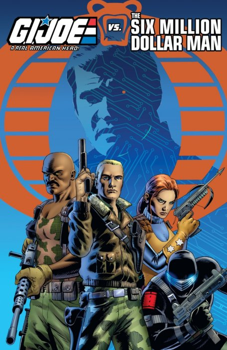 G.I. Joe - A Real American Hero vs. the Six Million Dollar Man #1 - TPB