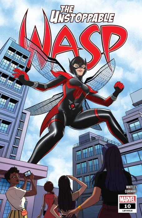 The Unstoppable Wasp #10