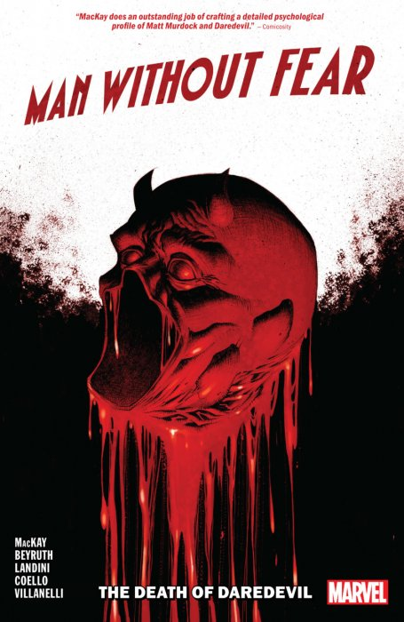 Man Without Fear - The Death of Daredevil #1 - TPB