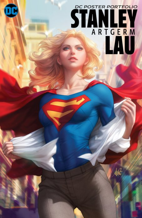 DC Poster Portfolio - Stanley 'Artgerm' Lau #1 - SC