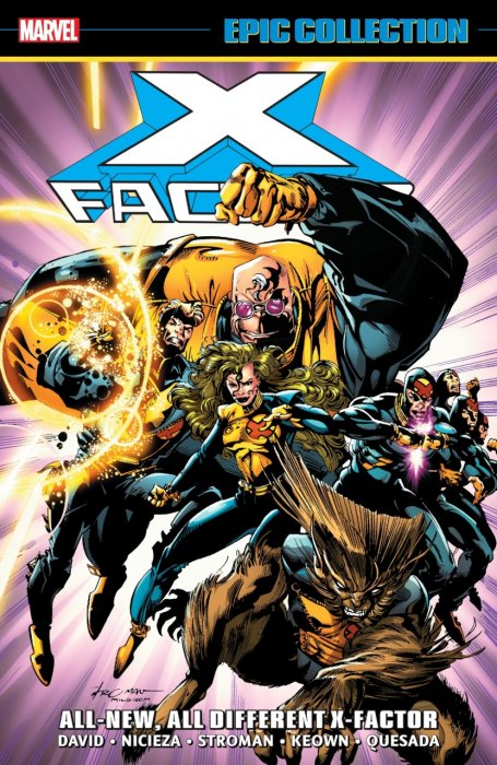 X-Factor Epic Collection - All-New, All-Different X-Factor #1